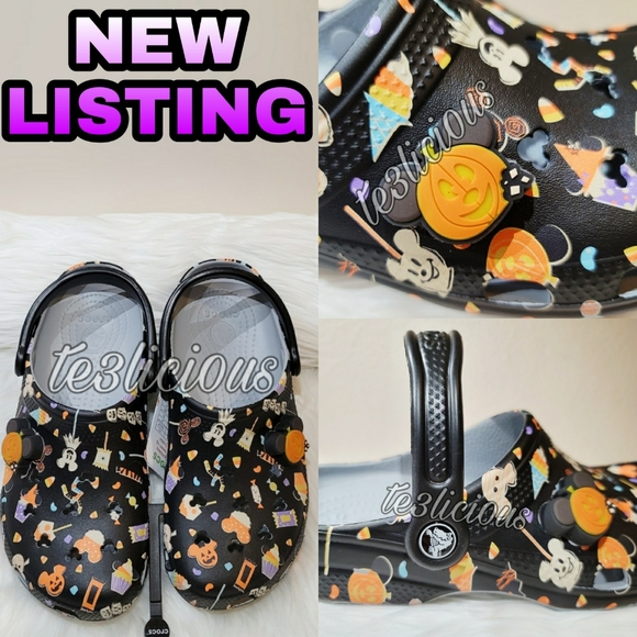 New Disney Parks Authentic MICKEY MOUSE Icon Slip On Shoes Ladies 9